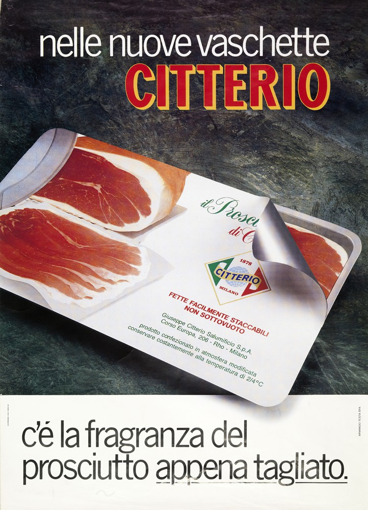 The fragrance of cured ham as when it was just sliced.