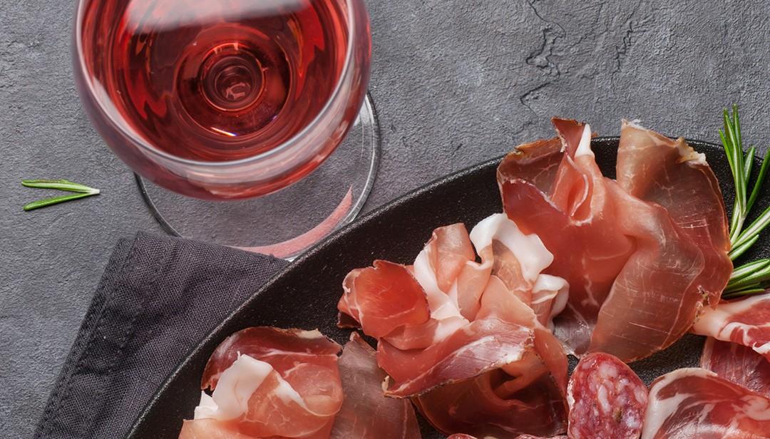 Prosciutto and Rose