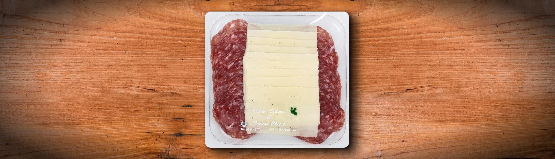 MILANO Salame & FONTINA Cheese FRESCO