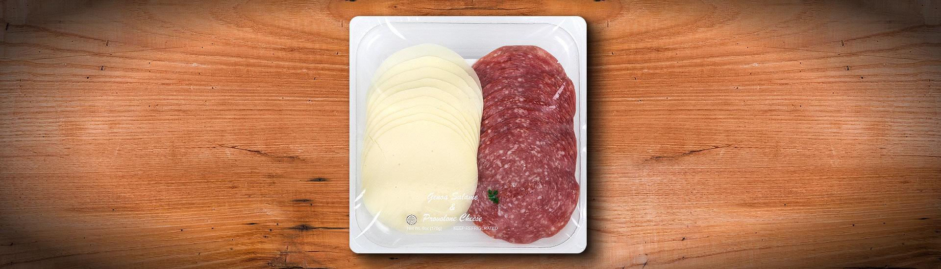 GENOA Salame & PROVOLONE Cheese FRESCO