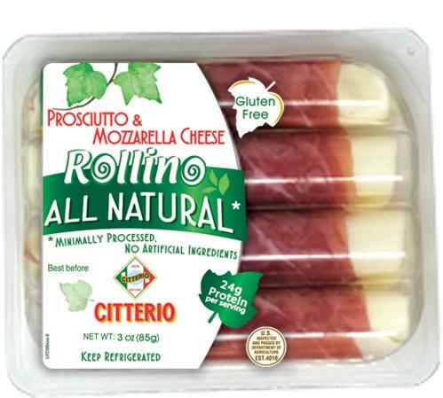 Prosciutto & Mozzarella Cheese Rollino